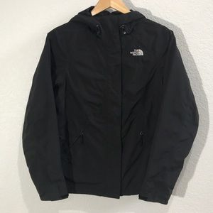 The North Face HYVENT black hooded jacket